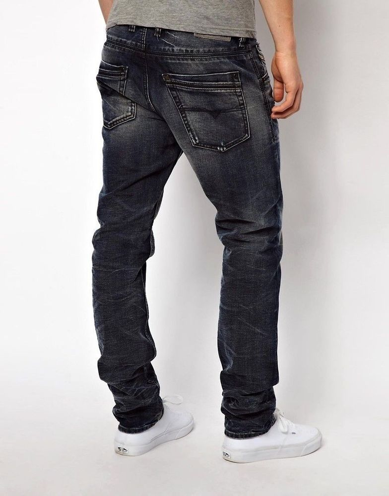 971f1294 $248 New Diesel Krayver 818D DNA Mutation Regular Slim Carrot Leg Jeans  34/34 #fashion #clothing #shoes #accessories #mensclothing #jeans (ebay  link)