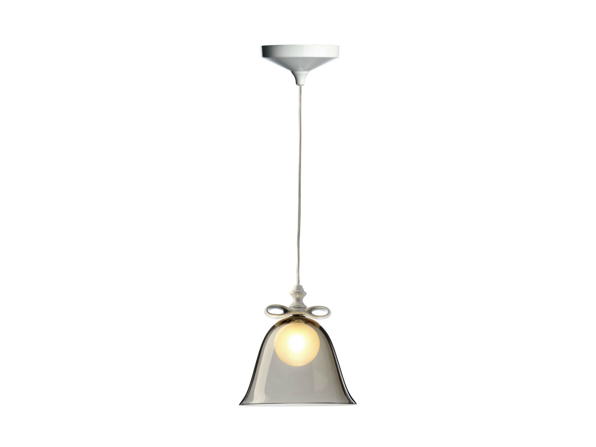 Lampada a sospensione in vetro soffiato BELL LAMP by Moooi© design Marcel Wanders