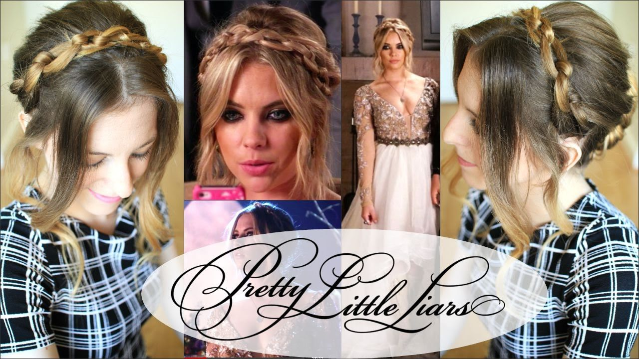 pretty little liars updo hair tutorial inspired by hannah