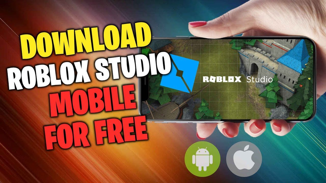 Roblox Studio Mobile Download How To Get Roblox Studio Mobile On Iphon In 2021 Roblox Iphone Studio