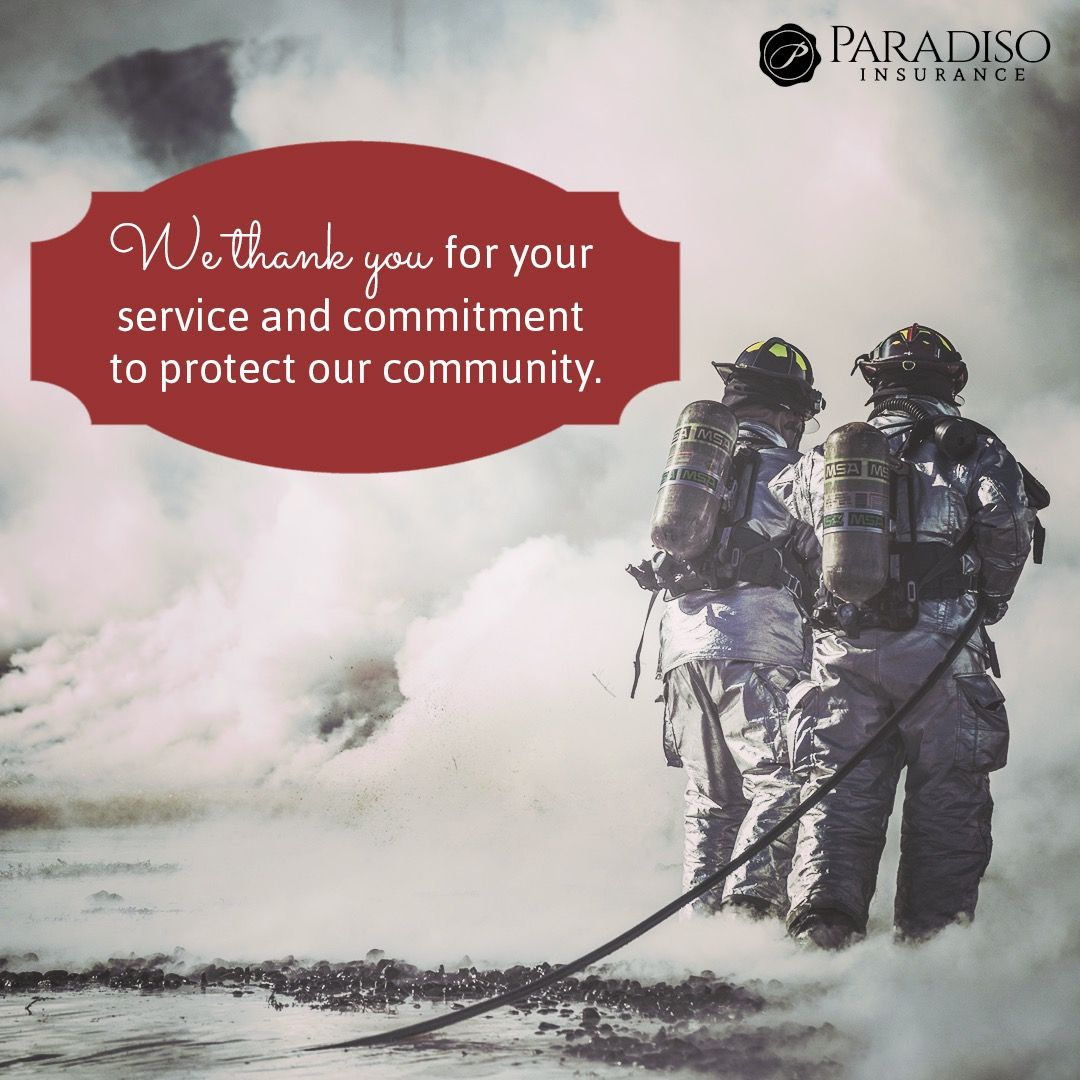 We thank you for your service to our commuities!