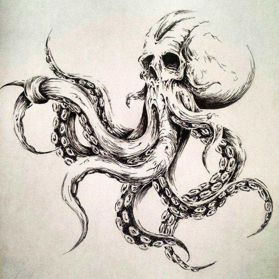 Pin by Cesar Falcon on Tattoo | Octopus tattoos, Tattoos
