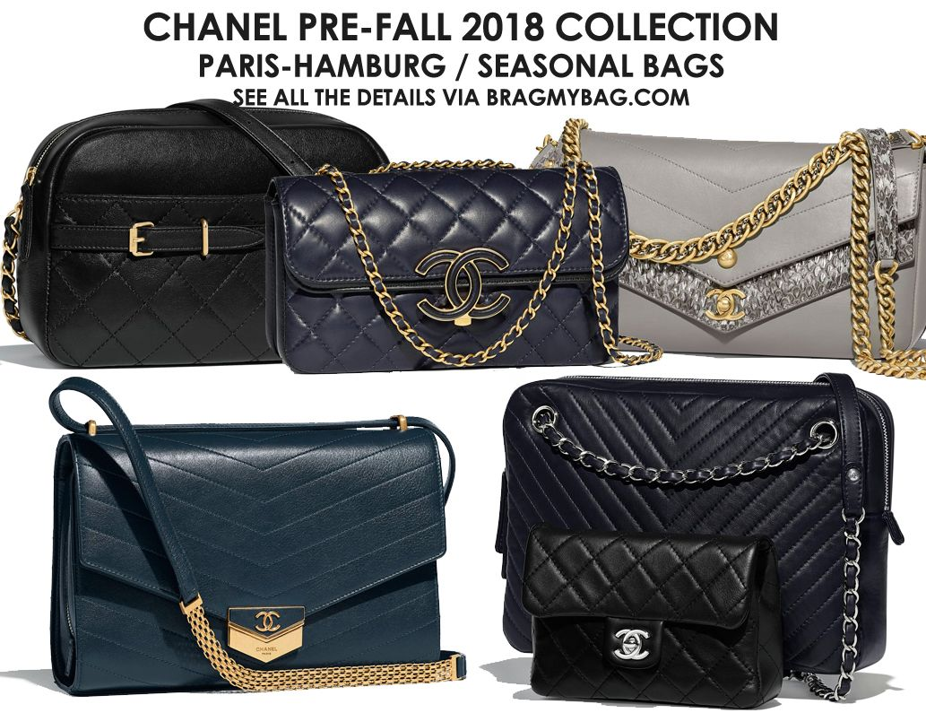 Chanel Pre-Fall 2018 Seasonal Bag Collection 40cfea96da82a