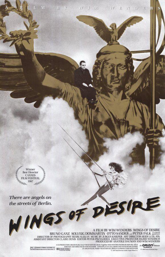 Wings of Desire 11x17 Movie Poster (1988)