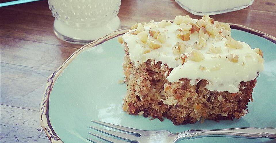 Carrot pineapple cake i recipe in 2020 dessert recipes