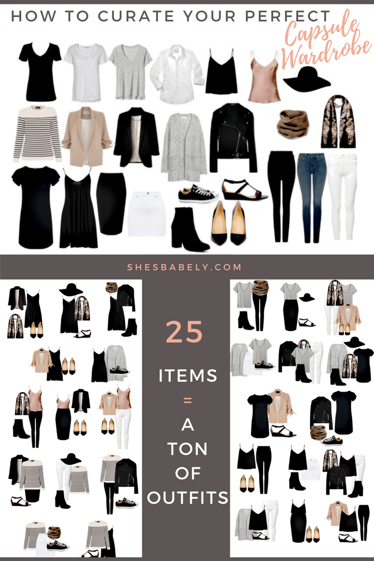 How To Build A Capsule Wardrobe (Plus Free Workbook!) | Declutter ...