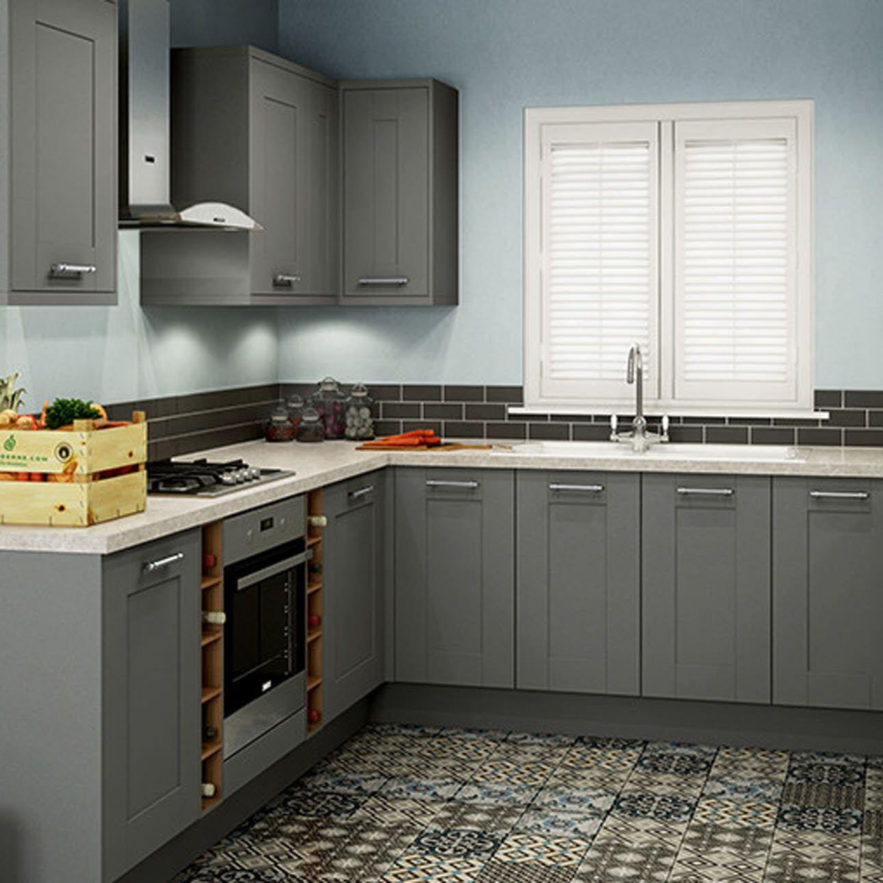 Image result for leighton grey kitchen Kitchen