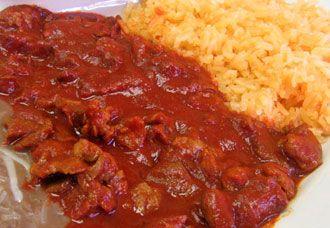 Carne De Res En Salsa Roja Mexican Food Recipes Food Everyday Food