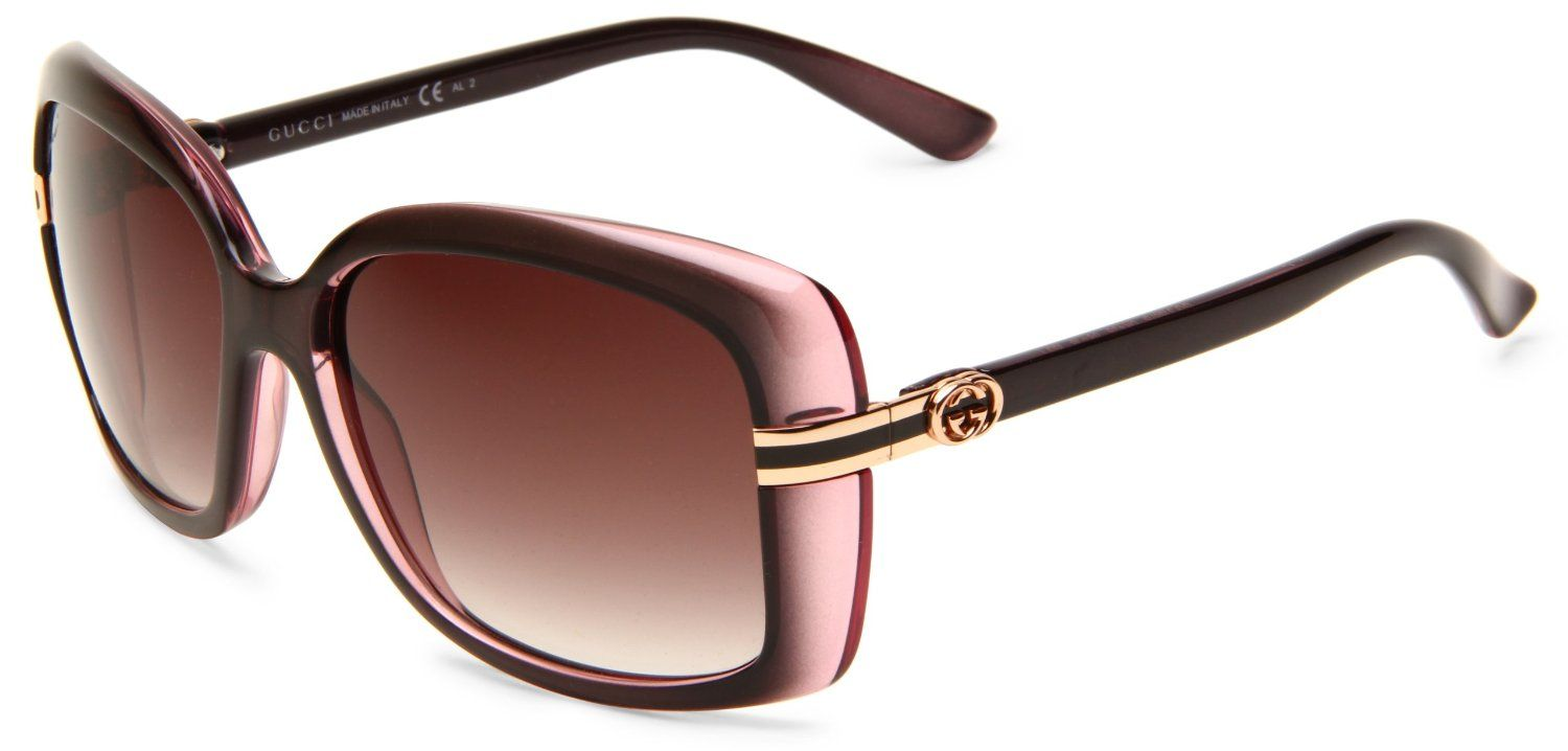 69ce3d48c8a Gucci Women s 3188 S Rectangle Sunglasses