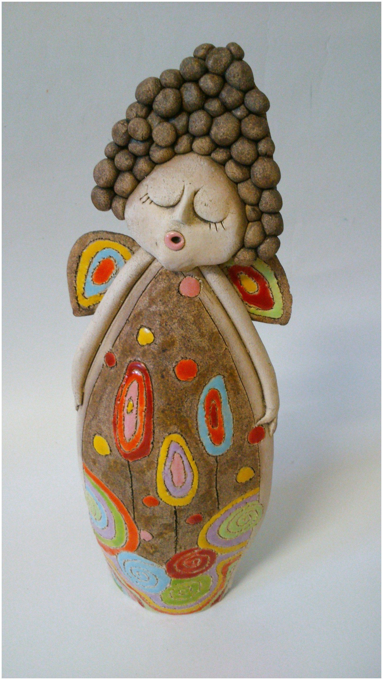 Budget Decorating Using Pottery | Pottery angels, Ceramics ...