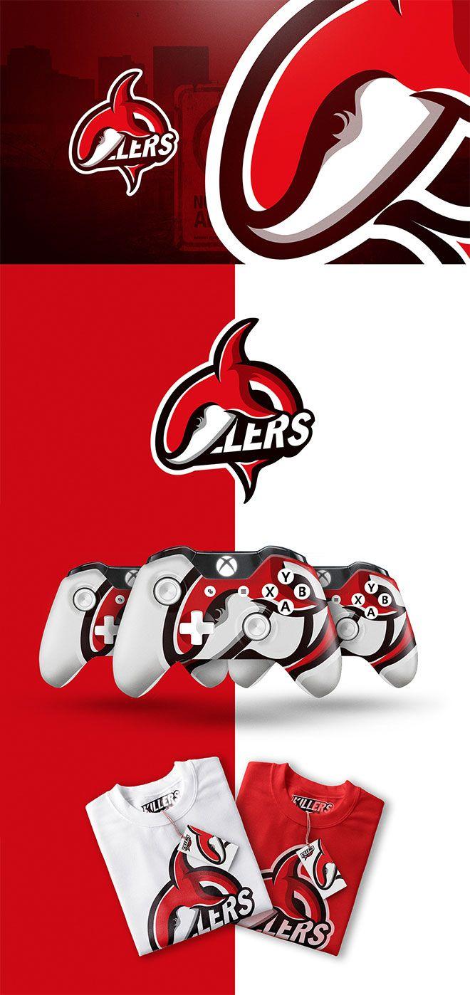 45 Mascot Logo Designs for Sports   eSports Teams 3662579bdd5