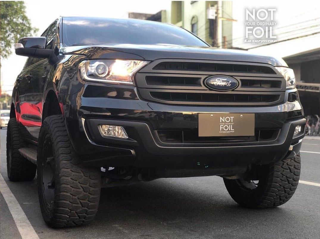 Murdered Ford Everest Ford