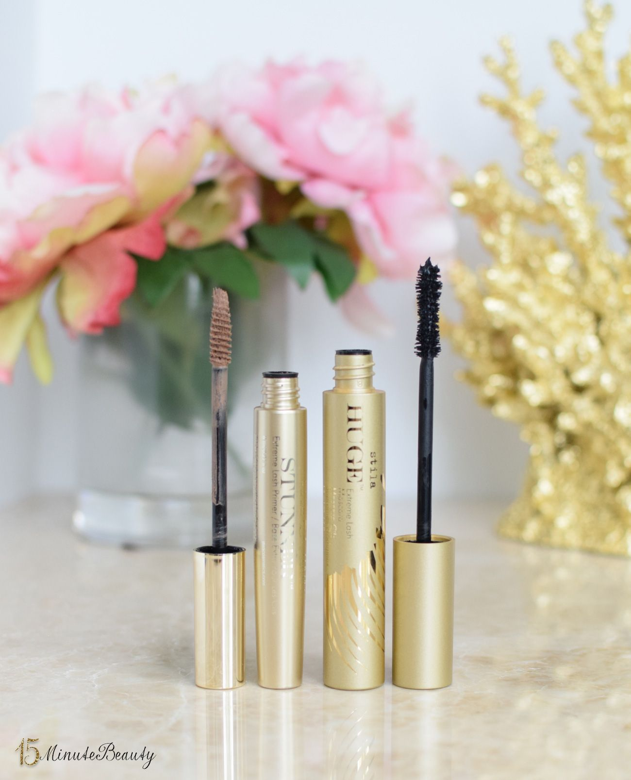 Tarte stunner vs tarte stunner dupe comparison - New Adventures In Lashes Stila Huge Extreme Lash Mascara And Lash Stunner Extreme Lash Primer