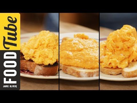 English, French, & American style | How To Make Perfect Scrambled Eggs - 3 ways | Jamie Oliver ...