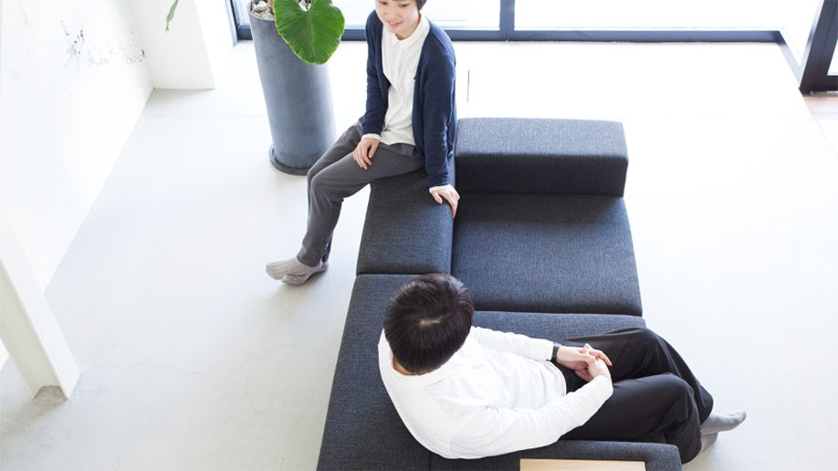 スタイリッシュなデザイナーズソファ Place プレイス ソファ専門店flannel Sofa デザイナーズ ソファ 和風 リビング ソファ