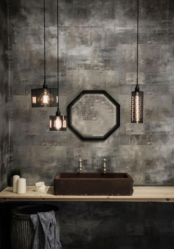 Ip44 Smoked Glass Bathroom Pendant Light Bathroom Pendant Bathroom Pendant Lighting Glass Bathroom