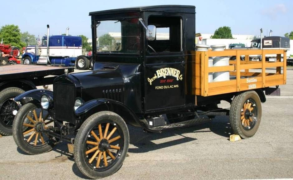 1925 Ford Model T Stake Bed Truck Trucks Ford Models Old Ford