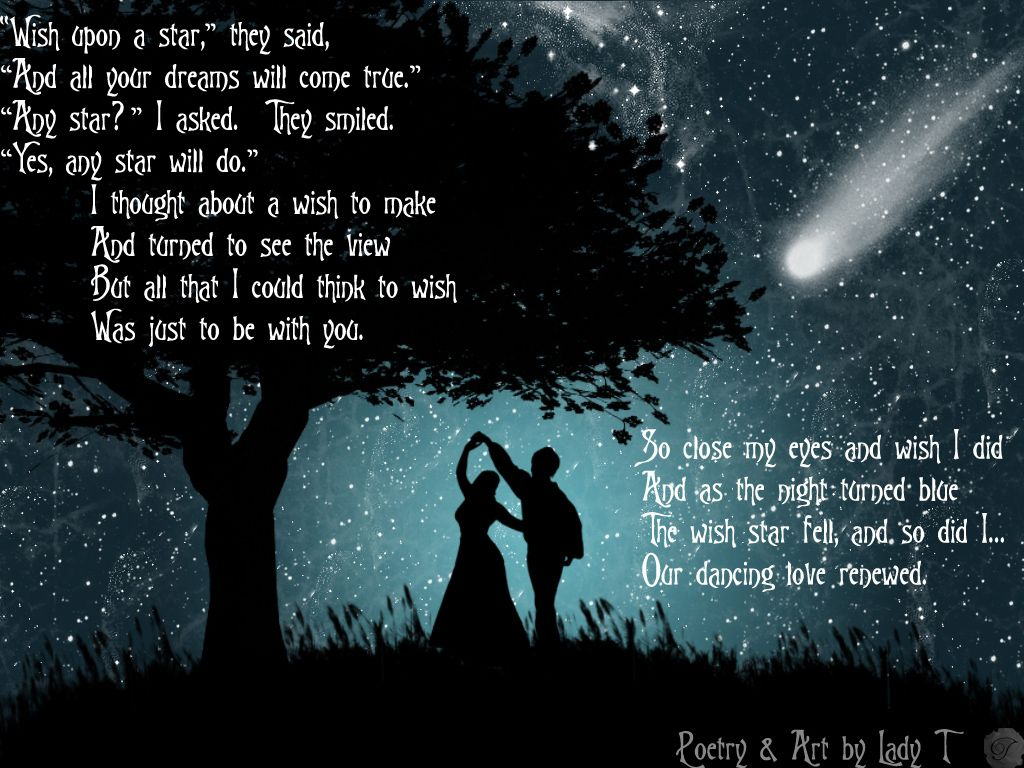 Make A Wish And Hope It Will Come True Poems About Stars