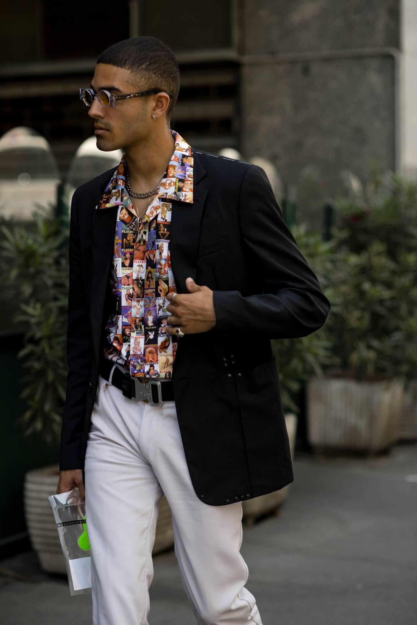 f06c541437c0 Best street style  Milan Fashion Week Men s SS19