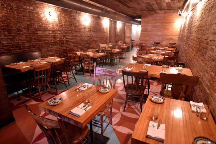Hecho En Dumbo The Mexican Restaurant Debuted A New Look In Early July Located On Bowery Eatery Features Colorful Hand Painted