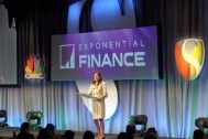 Exponential Finance, a two-day conference organized by Singularity University and CNBC, has been held in New York City.