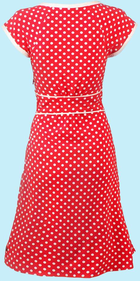 Rotes Rotes Mit PunktenHochzeitsfeiern Punkte Punkte PunktenHochzeitsfeiern Mit Kleid Kleid Rotes Kleid OwPiZuXkT