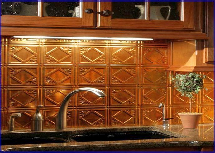 Copper Tin Ceiling Tiles