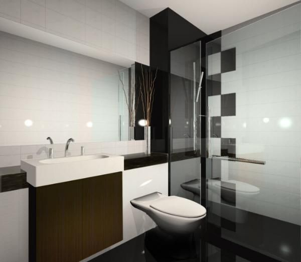 Modern Condo Bathroom Design