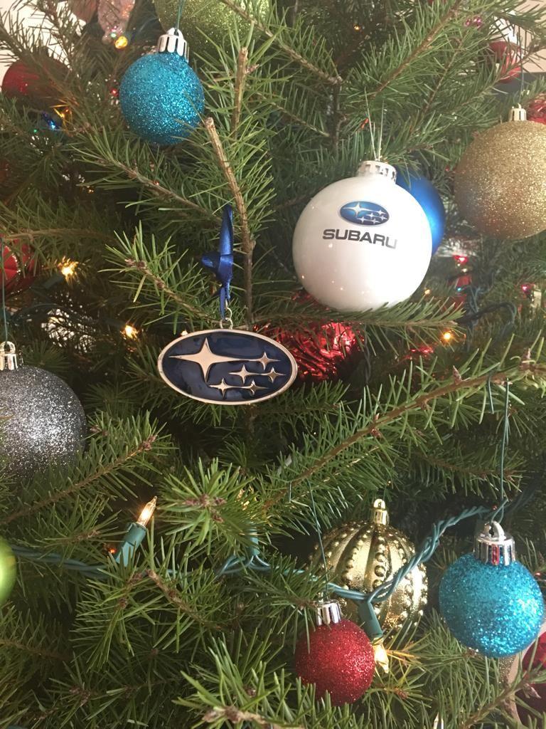 Merry Wrxmas Subaru Rally Christmas Bulbs Subaru