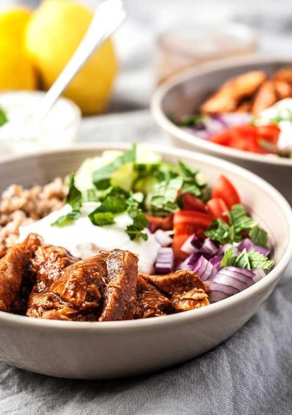 this easy moroccan chicken grain bowl makes fantastic, healthy ...