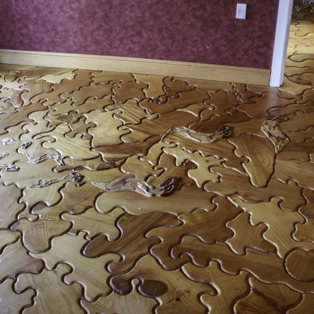Hardwood Floor Puzzle Pieces Child Dollhouse Pinterest