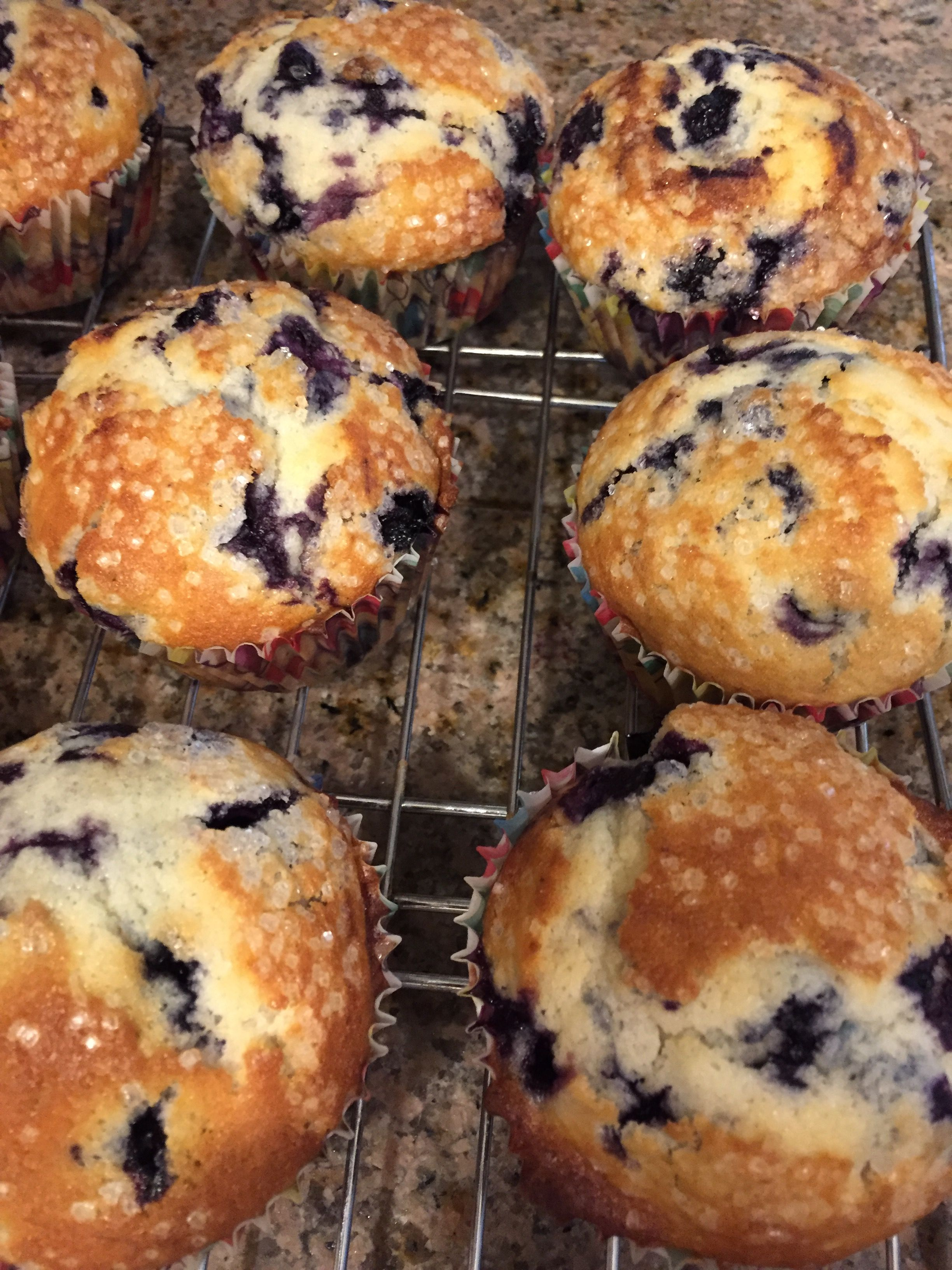 The Sweetest Blueberry Muffins Recipe  - Food.com
