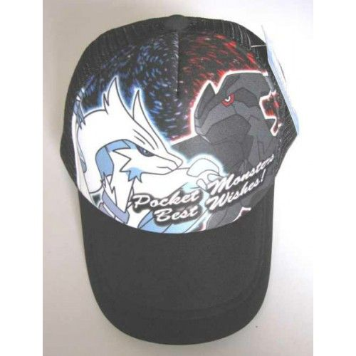 Pokemon Center 2012 Reshiram Zekrom Best Wishes Hat
