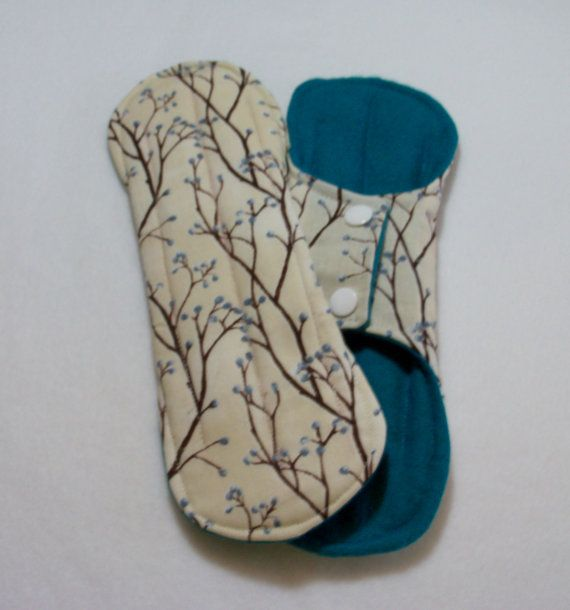 Heavy Flow Cloth Pads Long Mama Cloth By Cottonclothpads -9386