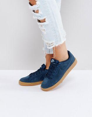 size 40 54ceb 63610 Nike - Court Royale - Baskets en daim - Bleu marine at asos.com  giftryapp