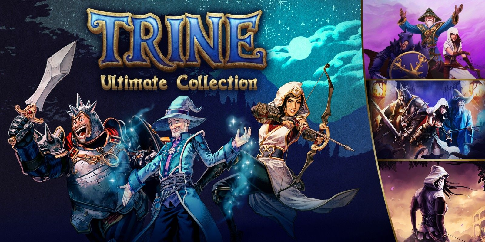 Trine Ultimate Collection Nintendo Switch Releases