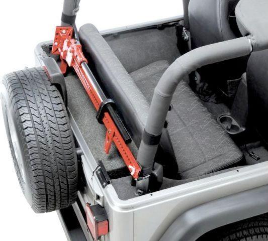Sport Cage Hi Lift Jack Mount For 92 95 Jeep Wrangler Yj Jeep Wrangler Accessories Jeep Wrangler Tj Jeep Wrangler