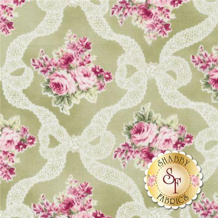 RURU Bouquet RU2200-13C By Quilt Gate Fabrics