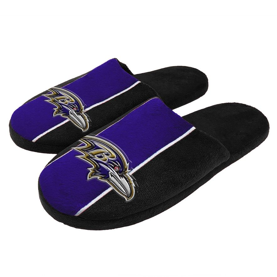 1d14adfa Men's Baltimore Ravens Slide Slippers, Size: XL, Team   Products ...