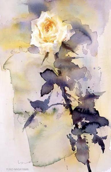 Image Par Monika Dz 29 Sur Aquarelles 2 Peinture Fleurs