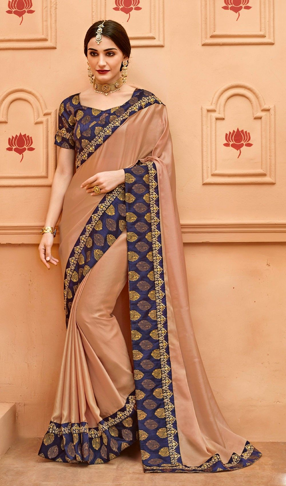 Traditional Latest Indian Fancy Saree Designs 2018-2019