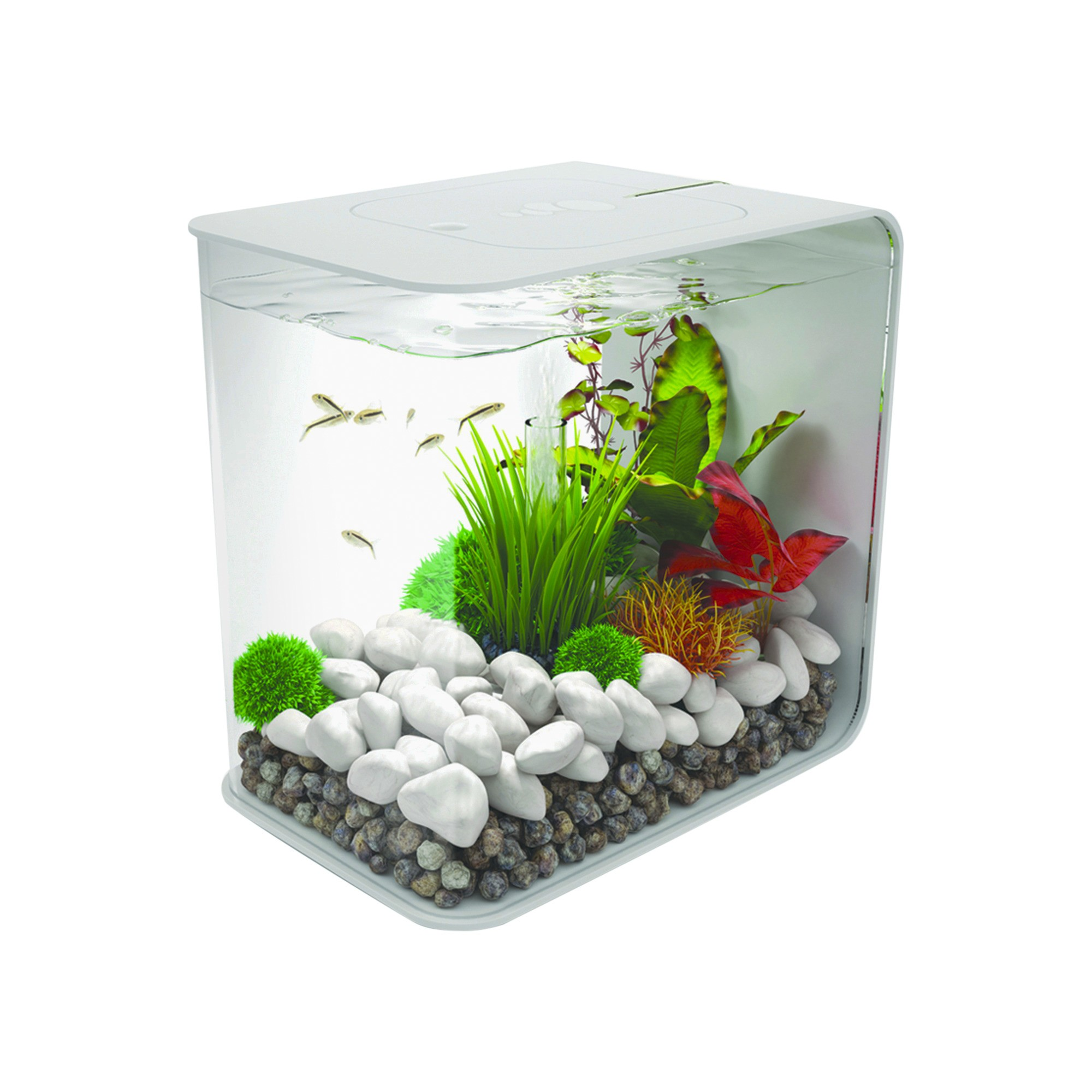 biOrb Flow 15 with Led Lights Aquarium White