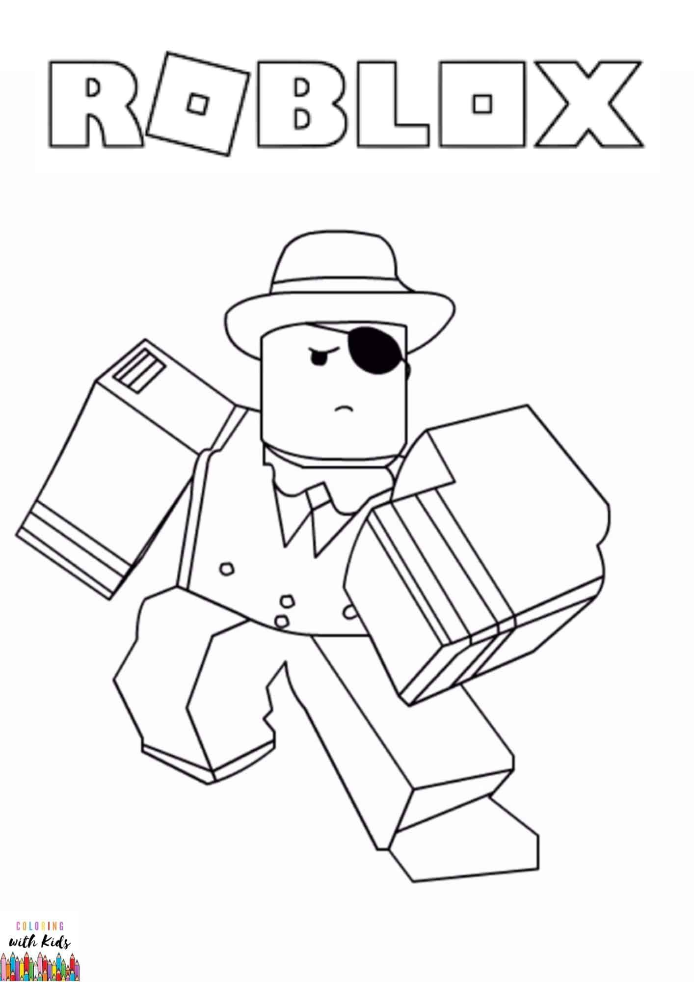 Roblox Coloring Page Image Credit Roblox Avatar Drawing By Yadia Chenia Permission Fo Avengers Coloring Pages Coloring Pages Coloring Sheets For Boys