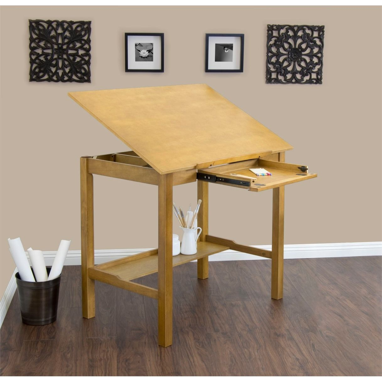 The handsome minimalist design of the america ii drafting table the handsome minimalist design of the america ii drafting table complements any home or work malvernweather Images
