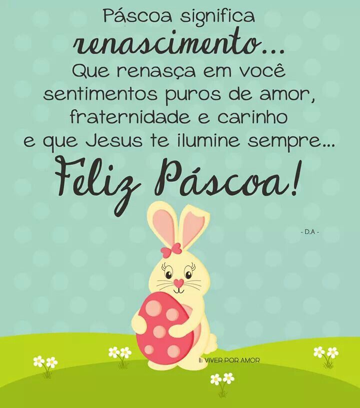 Feliz Páscoa, Feliz