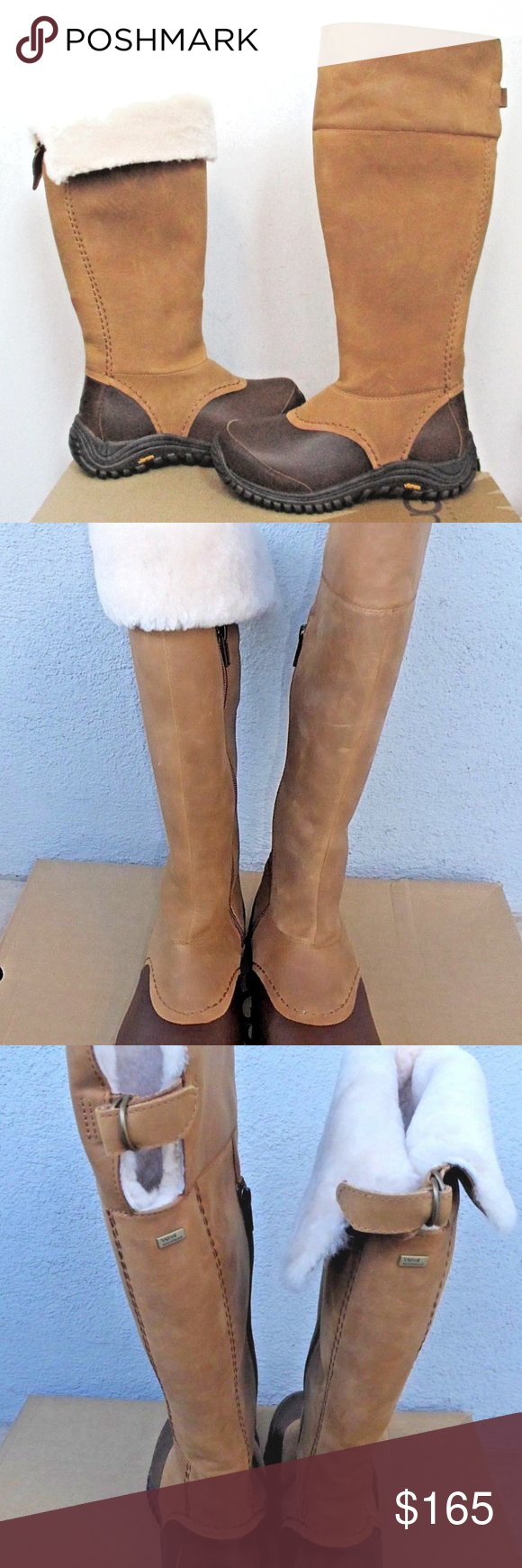 2c362a7cb8c New UGG Miko Waterproof Leather Winter Boots UGG Womens' Miko Boots ...