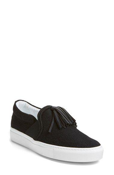 Lanvin Tassel Slip-On Sneaker (Women