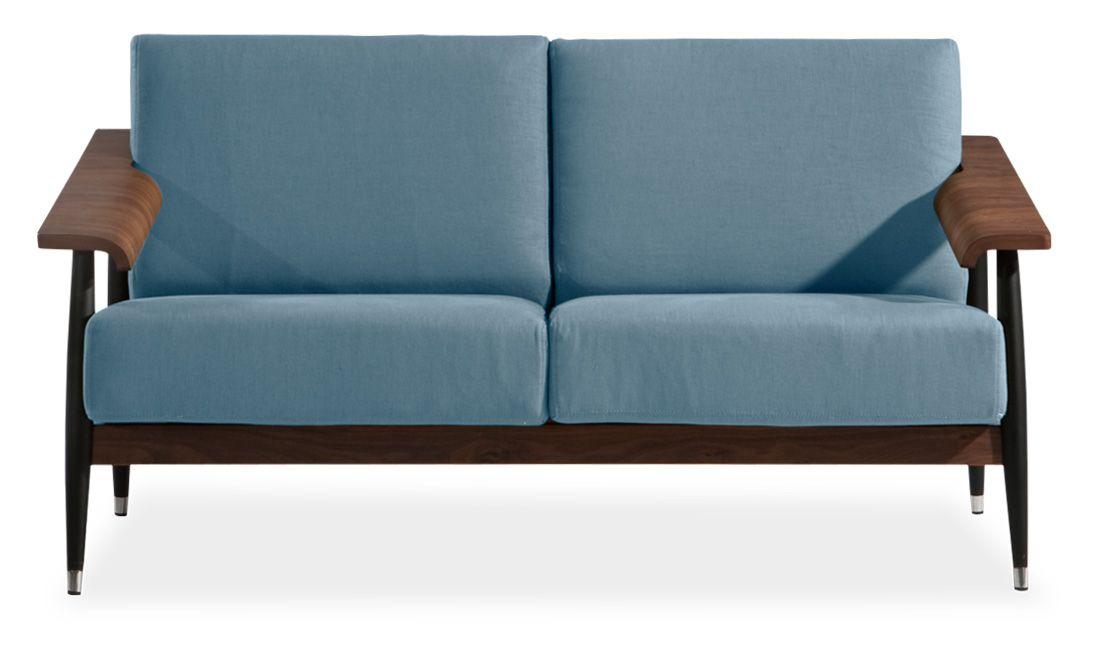 2-Sitzer Sofa Dowel Grau | Wohnung Bismarck | Pinterest | Living ...