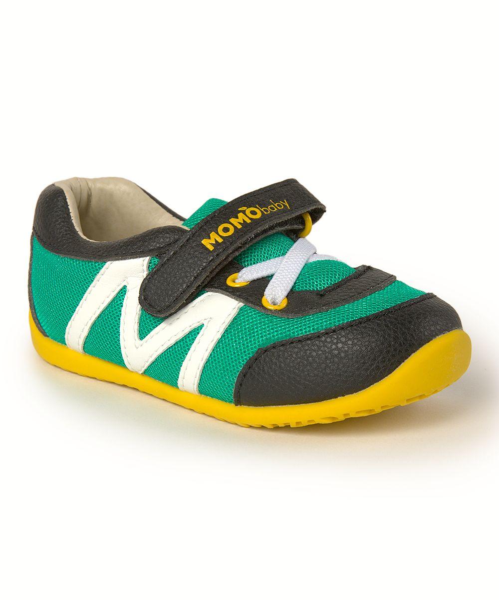 7fde1455a9bdb Hunter Black   Teal First Walker Leather Sneaker Boy Walking