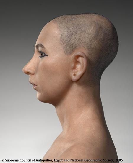 Most accurate face reconstruction of King Tut using 3D C-T scans of